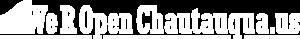 WeROpenChautauqu.us Logo   Chautauqua County Businesses